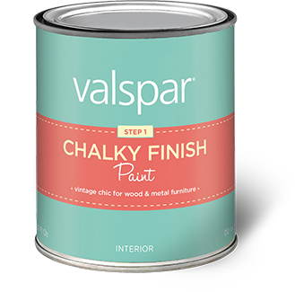 Valspar Chalky Finish Paint