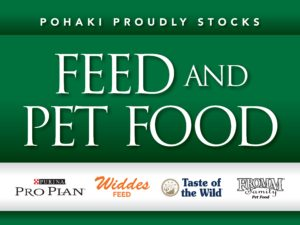 Pohaki Pet Feed Sign 13164.indd