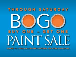 Pohaki Paint BOGO Sign 13442