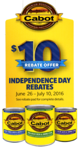 HOT INDEPENDENCE DAY REBATES 6-26 -7-10