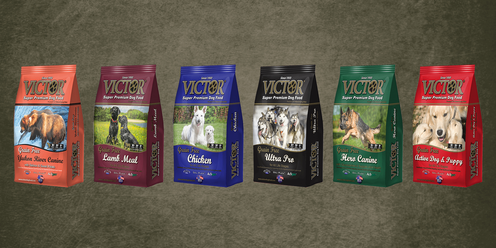 Victor Dog Food Products